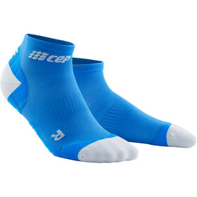 cep Ultralight Low Cut Sokken Heren, electric blue/light grey